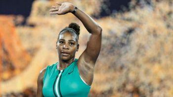 Cum sarbatoreste Serena Williams victoria obtinuta cu liderul mondial la Australian Open! VIDEO
