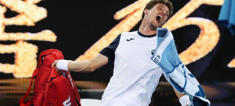 Scandal monstru la Australian Open! Pur si simplu nu s-a mai putut controla! A strigat la arbitru si a dat de pamant cu rachetele!