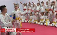 """Carolica fara frica"" e pustiul de 7 ani, campion la karate si la sah! Ii e greu sa aleaga intre Messi si Ronaldo"