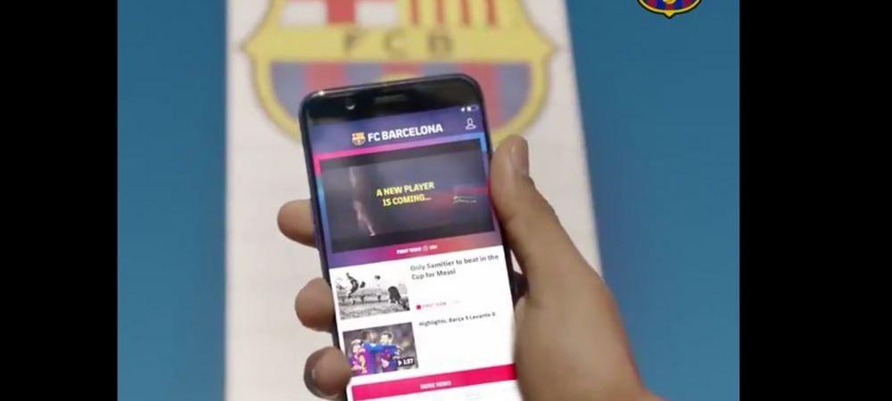 """""""Un nou jucator vine!"""" Anuntul GENIAL facut de Barcelona! Cum a prezentat ultimul transfer"""