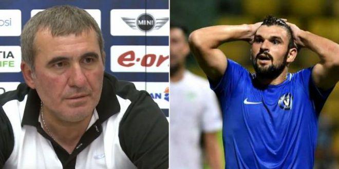 Acuzatii grave:  Hagi stia de problemele lui Vodut cu pariurile, dar e incapatanat!  Un nume important din fotbalul romanesc spune ca si alti oameni cunosteau situatia atacantului