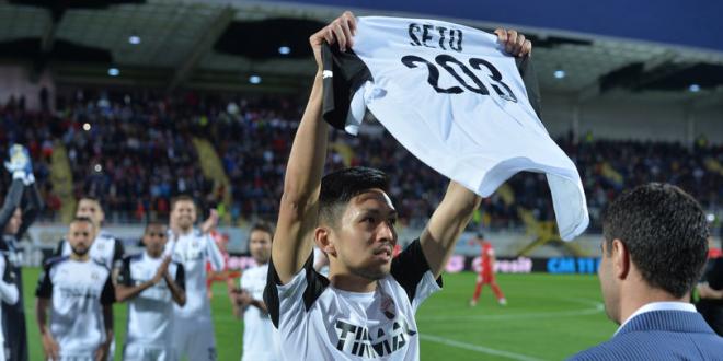 Bruzli , surpriza iernii! Japonezul Takayuki, strainul cu cele mai multe meciuri in Romania, e chemat din nou in Liga I