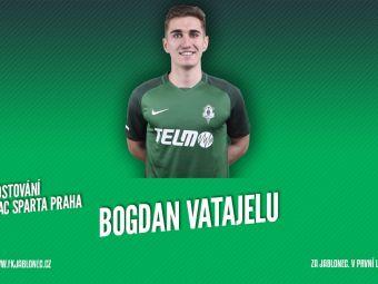 OFICIAL | Vatajelu a plecat de la Sparta Praga! Pas inainte pentru fundasul de banda stanga dupa ce i-a lasat pe Stanciu, Chipciu si Nita