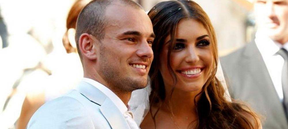 Putine sotii de fotbalist sunt ca ea! Sotia lui Sneijder salveaza minorele de la abuzuri sexuale. FOTO