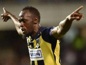 Usain Bolt si-a anuntat retragerea din fotbal! Cariera jamaicanului, oprita inainte sa inceapa. Ce gol a dat