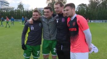 """Romanii care se-ntalneau la nationala, s-au ciocnit in amicalul CFR - Ludogorets! Si-au amintit de vremurile petrecute impreuna: """"Am adunat amintiri frumoase"""""""