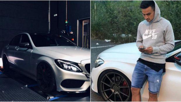 Cristi Ganea si-a TUNAT bolidul de 50.000 de euro in Spania! Cum arata BESTIA condusa de jucatorul Numanciei. FOTO