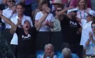 Faza zilei la Australian Open! Sotul Karolinei Pliskova, EXPLOZIE de bucurie dupa victoria obitnuta cu Serena Williams! VIDEO