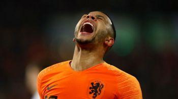 """Fanii lui Saint-Etienne, mesaj tulburator pentru Memphis Depay! """"Nu ai tata""""Cum le-a raspuns olandezul!"""