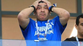 """Maradona, in stare de soc dupa disparitia lui Sala: """"Ce veste trista! Dumnezeu vrea ca el sa doarma!"""""""