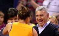"""""""Dormeam cu mingea langa pat!"""" Simona Halep a mostenit dragostea pentru fotbal de la tatal ei, fost jucator la Farul"""