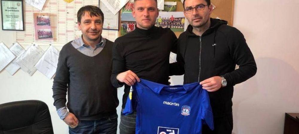 Eugen Trica, numit antrenor la surpriza sezonului din Liga a II-a