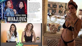 Fiicele lui Sinisa Mihajlovic fac RAVAGII pe retelele de socializare si vor deveni vedete de reality TV. FOTO