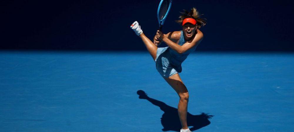 FABULOS! Afisul aparut pe strazile din Melbourne dupa ce Maria Sharapova a exagerat din nou cu urletele la Australian Open | FOTO