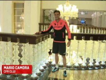 """Camora vrea sa-si ia cetatenia romana si isi schimba numele: """"Cred ca Marius!"""" Capitanul CFR-ului vrea sa devina antrenor in Romania"""