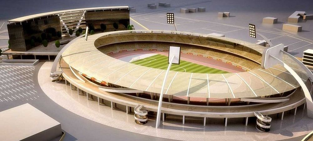 Stadion nou si Sala Polivalenta intr-un oras mare din Romania! O echipa de traditie renaste. FOTO