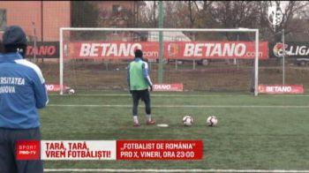 """Apa bei, apa joci!"" Marius Constantin a facut show la ""Fotbalist de Romania""! Emisiunea e la ProX, ora 23:00"