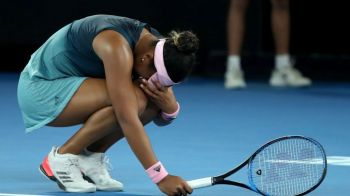 Naomi Osaka, IN LACRIMI dupa ce a pierdut setul doi in finala de la Australian Open! VIDEO