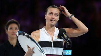 "AUSTRALIAN OPEN   Petra Kvitova, IN LACRIMI la ceremonia de premiere! ""Nu stiam daca mai pot tine in mana o racheta de tenis"""