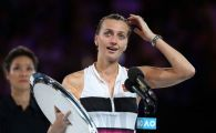 "AUSTRALIAN OPEN | Petra Kvitova, IN LACRIMI la ceremonia de premiere! ""Nu stiam daca mai pot tine in mana o racheta de tenis"""