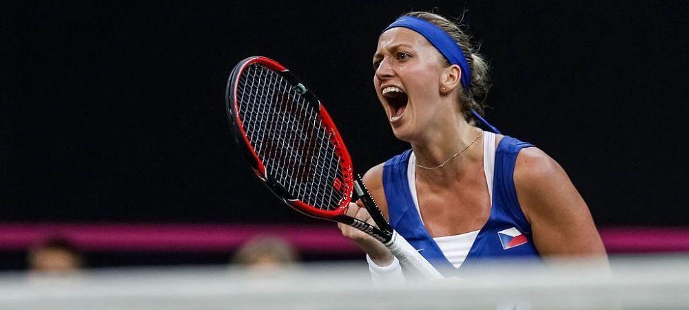 Romania A SCAPAT in Fed Cup de racheta numarul 1 a Cehiei! Petra Kvitova nu va fi prezenta la Ostrava!