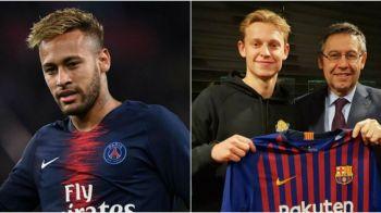 Dezvaluire fabuloasa! Bartomeu l-a convins pe De Jong sa semneze cu Barcelona dupa ce i-a aratat un SMS primit de la Neymar! Ce scria in el