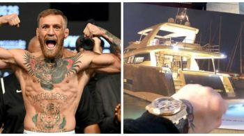 Conor McGregor si-a comandat yacht personalizat! A platit o avere pe el! Cum arata bijuteria! FOTO!