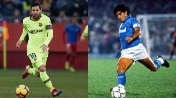 """Messi e peste Maradona! O legenda a fotbalului a dat verdictul: """"Cariera lui Diego in top a durat doar cativa ani"""""""