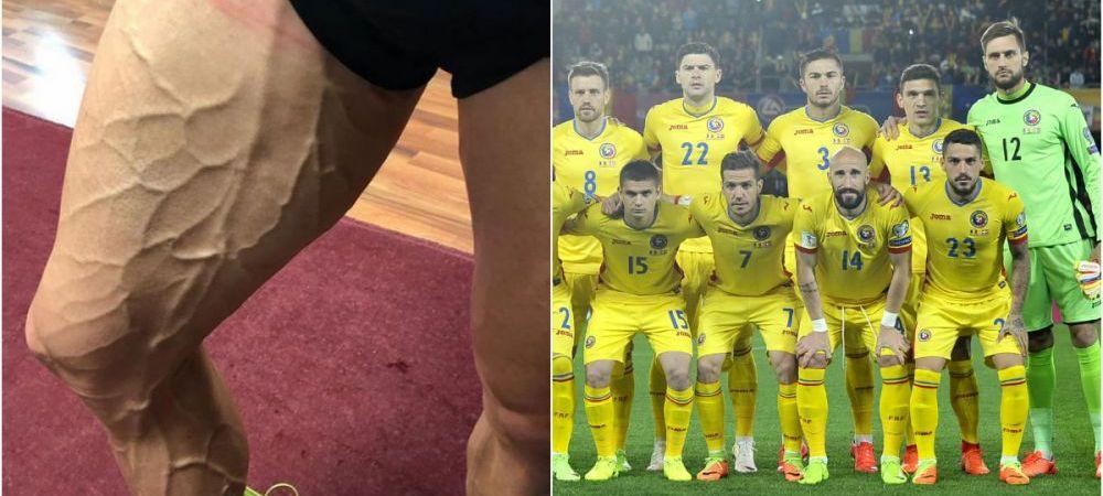 Asa arata piciorul unui jucator din nationala Romaniei! Fotbalistul care a rupt Instagramul dupa ce s-a transformat in RONALDO