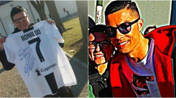 Ce gest a facut Cristiano Ronaldo pentru femeia careia i-a SPART nasul! Portughezul a invitat-o la antrenament. FOTO