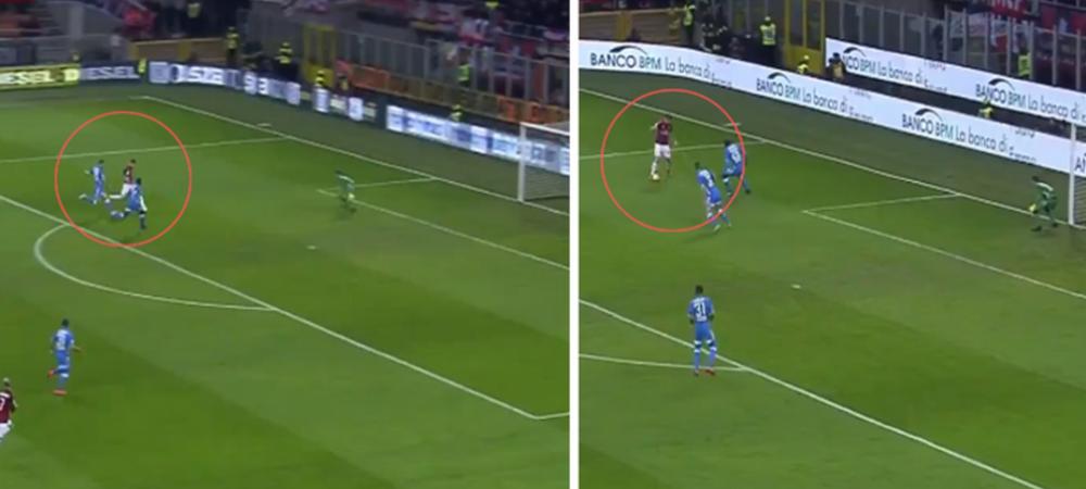 Piatek a DISTRUS-O pe Napoli la primul meci ca titular la AC Milan! Cum a putut sa marcheze atacantul de 35 de milioane de euro