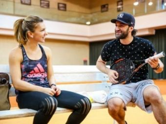 "Smiley si Simona Halep: ""About last night"" Imaginea care a aprins imaginatia fanilor"