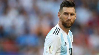 Messi, decizie FINALA in privinta echipei nationalei! Ce anunt a facut in Argentina