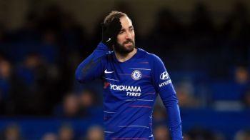 Cat ghinion! Higuain, accidentat dupa doar doua meciuri la Chelsea! Ce a a spus Sarri de situatia atacantului!