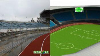 """EXCLUSIV! Hermannstadt va juca din nou la Sibiu! Cum arata arena """"modernizata"""" si care este stadiul lucrarilor. FOTO"""