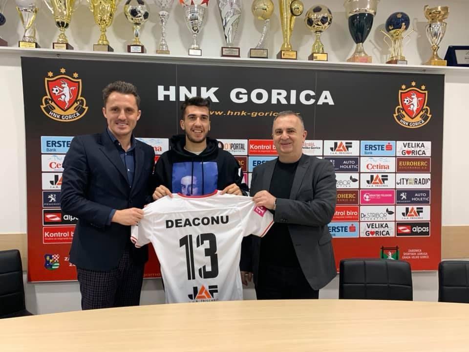 Ronaldo Deaconu, prezentat oficial in Croatia!