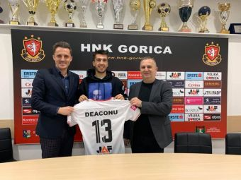 "Ronaldo Deaconu, prezentat oficial in Croatia! ""Sper ca vom realiza lucruri marete"" Ce salariu va incasa!"