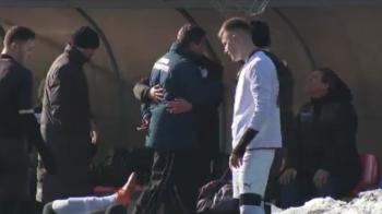 VIDEO: Lacatus a sarit la BATAIE! Ce s-a intamplat pe margine, la meciul jucat azi de Steaua