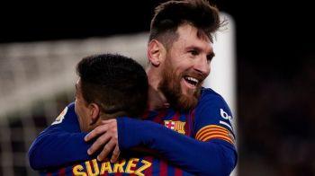 """Messi e cel care da cele mai pretioase lectii la Barcelona! Dezvaluirea lui Suarez despre starul argentinian: """"M-a ajutat sa vad asta"""""""