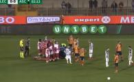 Momente de groaza la un meci din Italia! Partida, SUSPENDATA dupa o accidentare in secunda 5: un jucator a ramas inconstient pe gazon   VIDEO