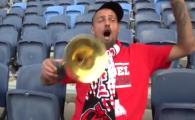 VIDEO EPIC! Tamas a luat trompeta si i-a chemat la meci pe fanii lui Hapoel! Clip GENIAL postat de club. A marcat in derby-ul cu Maccabi