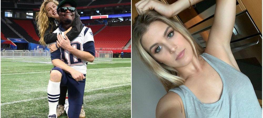 """""""Astia am putea fi noi"""" Cu cine """"s-a cuplat"""" Bouchard cu ocazia Super Bowl. FOTO"""
