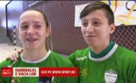 Gemenele Leustean, noua speranta a handbalului romanesc! Vor sa castige Liga Campionilor si Balonul de aur: modelul lor este Cristina Neagu