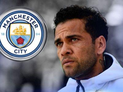 Surpriza lui 2019: Dani Alves, la Manchester City! Ce oferta are pe masa brazilianul si ce raspuns a dat