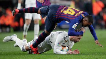 BARCELONA - REAL MADRID 1-1 | Vasquez si Malcom au marcat golurile, Messi a intrat in ultimele 30 de minute in El Clasico! Toate fazele meciului