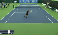 Lovitura ANULUI in tenis? Necunoscutul de pe 268 ATP care a reusit o reluare naucitoare pentru adversar! VIDEO
