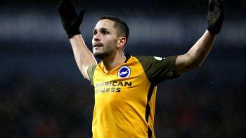 Florin Andone, SUSPENDARE DRASTICA dupa ultimul meci al lui Brighton! Ce s-a intamplat