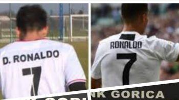 Clubul care l-a transferat pe Ronaldo din Romania si i-a dat numarul 7! FOTO