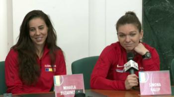 """CEHIA - ROMANIA FED CUP   Simona Halep a vorbit despre starea sa de sanatate la Ostrava! Ce mesaj i-a transmis lui Buzarnescu inaintea meciului de foc cu Pliskova: """"Nu are nevoie de asta"""""""