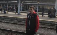 Dinamo a plecat cu trenul la Sf. Gheorghe! Distractie maxima pe peron